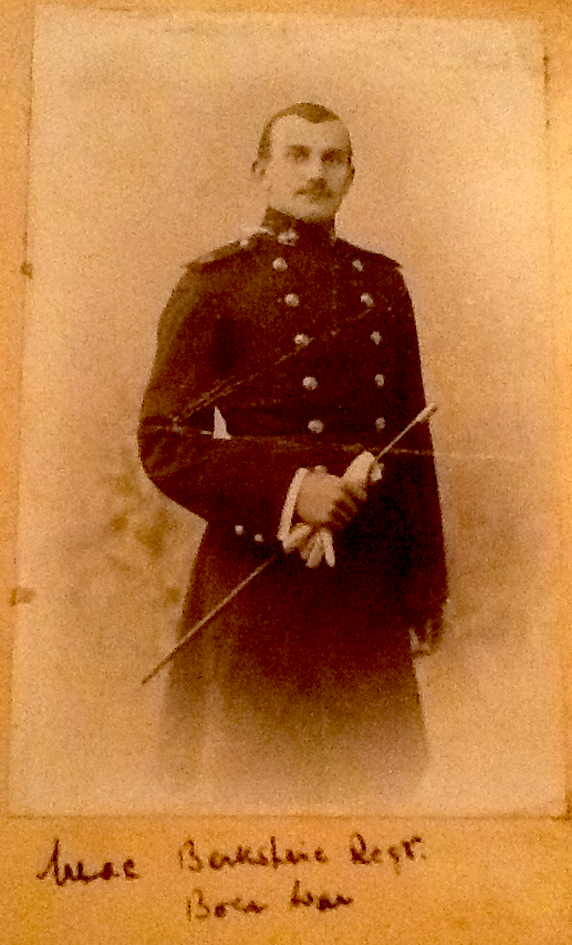 Mihill Loraine Slaughter when he was serving in the Berkshire Regiment during the Boer War