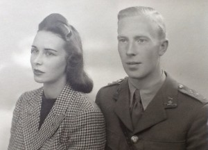 Peggy and Michael's engagement photo 1940
