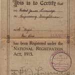 National Registration Act 1915  Herbert James Liversedge