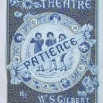 A poster for Patience at the Savoy Theatre