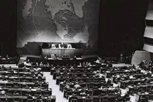 The United Nations General Assembly, New York 1947