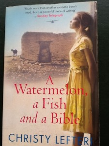 A Watermelon, a Fish and a Bible, by Christy Lefteri