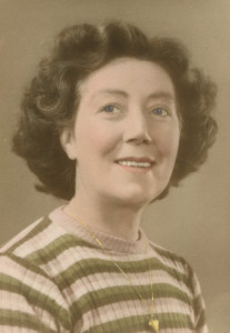 May Dunkley when young