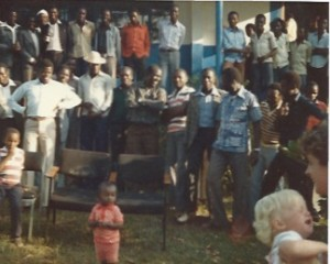 Farewell Party Migori 1983 - 'Cheers not tears'