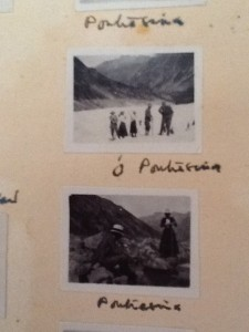 Photos of a family holiday in Pontresina early 1900s,   from Arthur's album